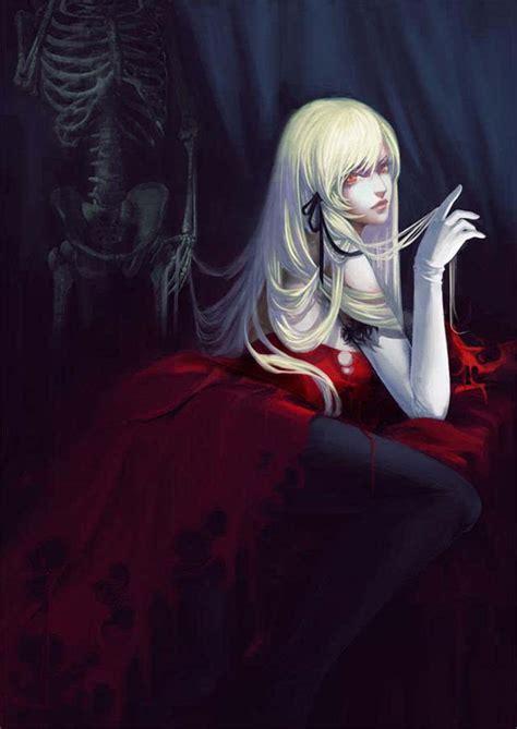 问一下这张吸血鬼动漫的图片