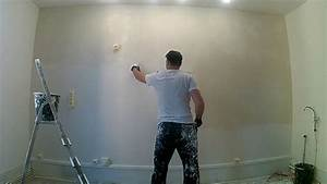 Enduire Un Mur Abimé : enduire un mur en pl tre ab m 3 3 youtube ~ Dailycaller-alerts.com Idées de Décoration
