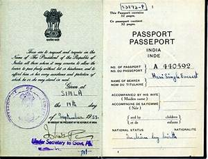documents pioneering punjabis digital archive With documents passport india