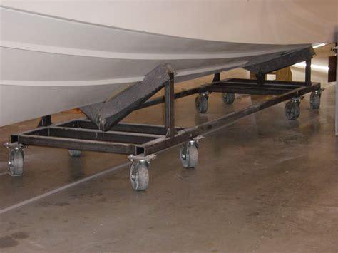 Boat Dolly by Pin Boat Dolly Maneuvering Trailer W 26cm Solid Foam