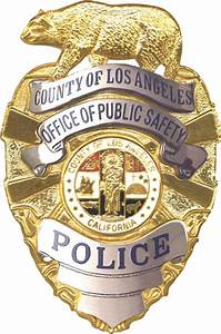 File:Badge of the Los Angeles County Police.png ...