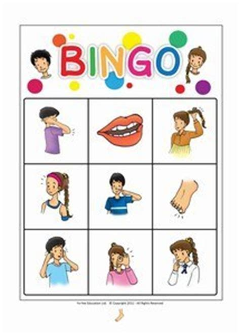 flashcards bingo games  kids