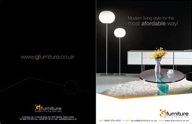 furniture company brochure design company brochure