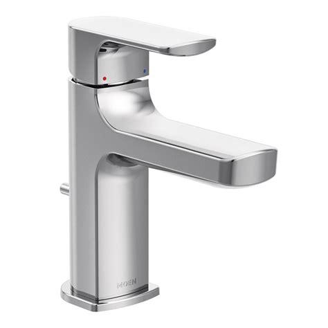 moen 6900 rizon onehandle low arc bathroom faucet chrome
