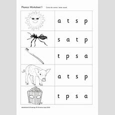 Phonics Picture Match 1 S A T P By Beemistress  Teaching Resources