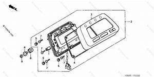 Honda Atv 2004 Oem Parts Diagram For Meter