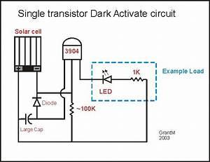 Dark Activated Circuit