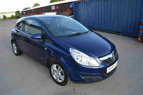 vauxhall corsa blue vauxhall 2009 corsa active ecoflex cdti blue car for sale