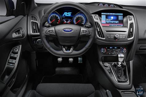 interieur ford focus rs focus rs 2016 sportive