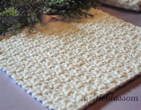 free crochet dishcloth patterns free easy crochet dishcloth pattern mellie blossom