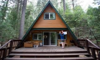 Tiny A Frame Homes Ideas by A Frame Cabin Floor Plans Small A Frame Cabin House