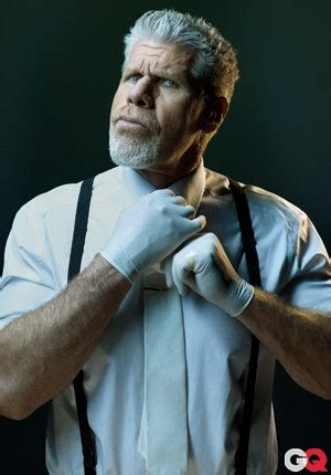 villains questionnaire ron perlman gq