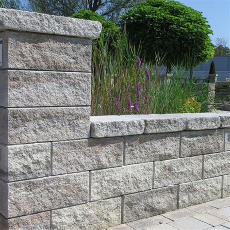 steine zum ausbetonieren friedl steinwerke gt gartentr 228 ume gt produkte gt classic line gt faro zaun und mauerstein