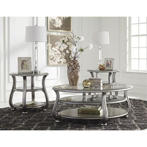 signature design  ashley coralayne coffee table set