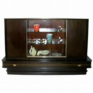 German Art Deco Bar Cabinet By Musterring Mbel At 1stdibs