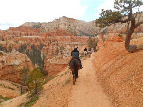 canyon bryce rides trail horseback national park ride tripadvisor utah
