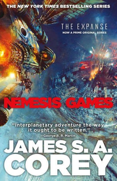 nemesis games expanse series   james   corey