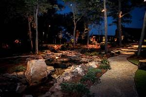 Memphis landscape lighting services image gallery