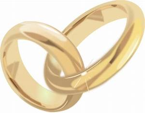 Wedding Rings 2 Clip Art at Clker.com - vector clip art ...