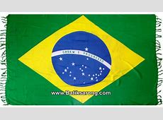Brazil Flag Sarong Manufacturer Company In Bali Indonesia