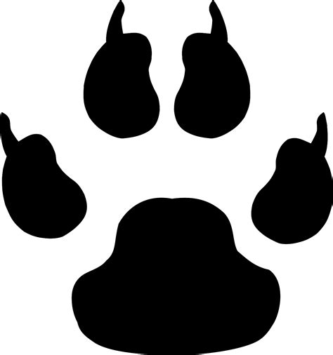 Paw Clipart Paws Clip Real Clipart And Vector Graphics