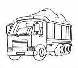 Coloring Pages Transporter Coal Carrying Factory Cars Carrier sketch template