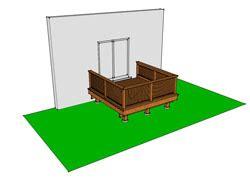 12x12 deck plan