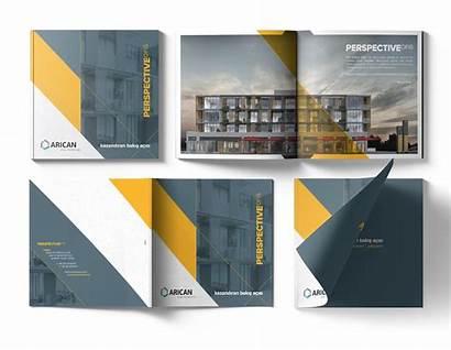 Behance Graphic Creative Industries Brochure Corporate