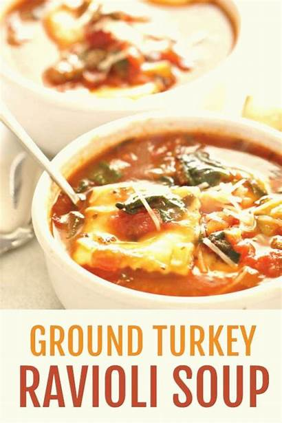 Turkey Ground Sausage Ravioli Soup Recipes Recipe
