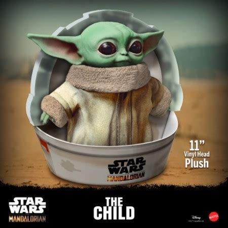Star Wars The Mandalorian The Child ( Baby Yoda ) 11 Inch ...