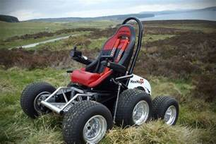 All Terrain Wheel Chair by Hexhog Gives Wheelchair Bound Users The Power To Explore
