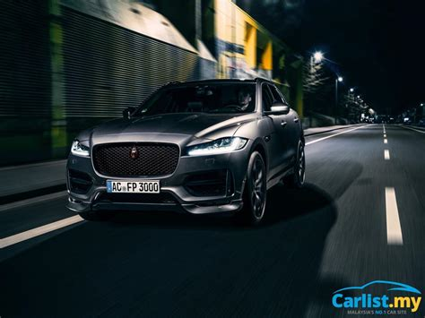 The Jaguar Fpace Gets Upgraded By Ac Schnitzer Auto