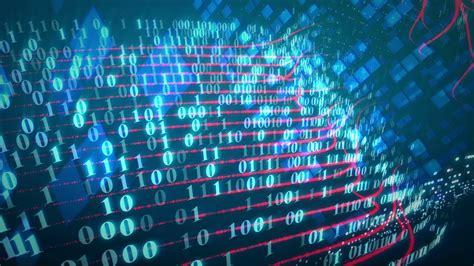 stream  binary code  screen data  technology