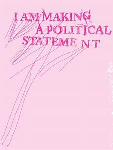 POLITICAL STATEMENT. by muskawo on deviantART