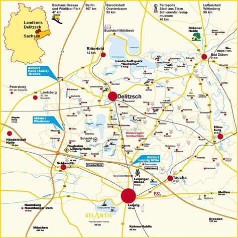 Paddeln Leipzig Karte