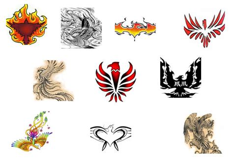 phoenix tattoos design pictures  tattoo pictures
