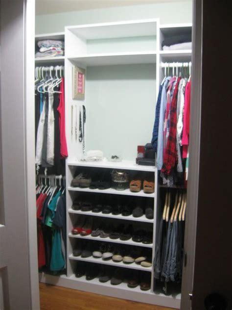 our diy closet redo house
