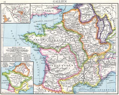 Roman Gaul Map