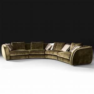 Large designer velvet modular corner sofa for Large velvet sectional sofa