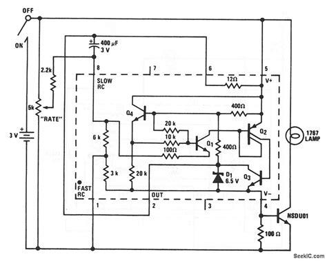 Mini Strobe Variable Flasher Led Light Circuit