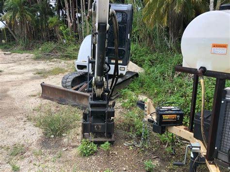 bobcat  mini excavator  sale davie fl  mylittlesalesmancom
