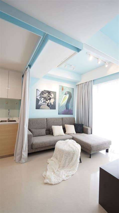 Ideas For Small Rooms Singapore by Small Apartment In Downtown Singapore By Hue D Homedezen
