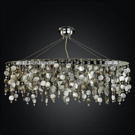 midnight pearl five light chandelier with of pearl