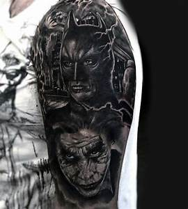 100 Batman Tattoos For Men - Superhero Ink Designs