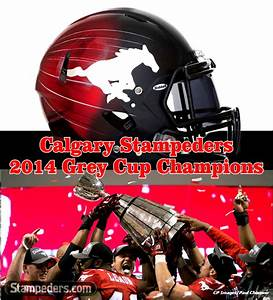 Calgary Stampeders ………… 2014 Grey Cup Champions – My ...