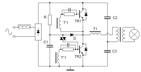 halogen transformer wiring diagram electronic transformer circuit schematic get free image