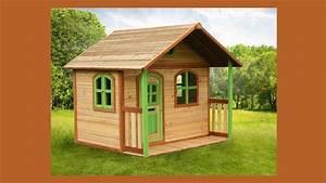 Maisonnette En Bois Castorama : une cabane pour enfants dans le jardin ~ Dailycaller-alerts.com Idées de Décoration