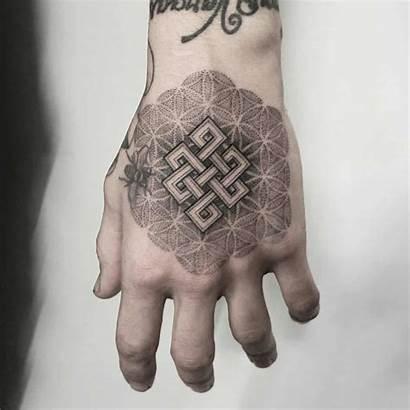 Tattoo Hand Tattoos Knot Karma Designs Geometric