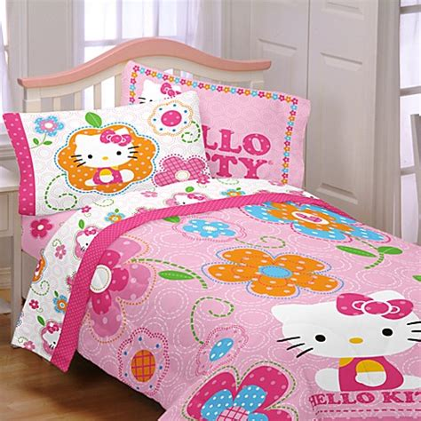 hello kitty twin comforter set buy hello comforter set from bed bath beyond