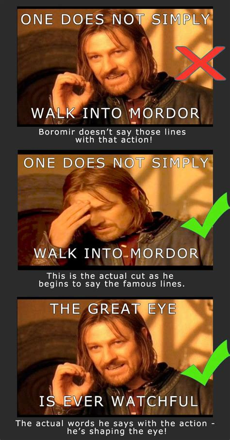 Meme Boromir - one does not simply walk into mordor funny pictures quotes memes jokes